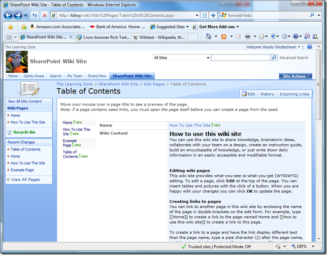 Wiki-in-the-Box – Is SharePoint Wiki Really that Bad